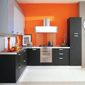 L Shaped Modular Kitchens