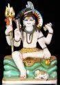 Marble Mahadev Statue
