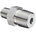 Stainless Steel Threaded Hex Nipple