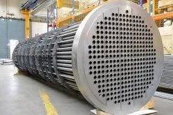 SS Tube Sheet Exchanger, for Hydraulic and Industrial Process