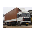 Stainless Steel Truck Container Body, Length: 20 Feet