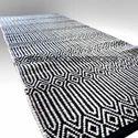 Sge Rectangle Geometric Cotton Carpets