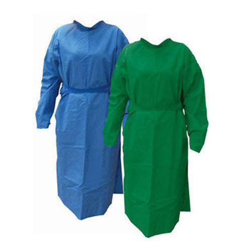 Green,Blue Hospital Surgical Gown