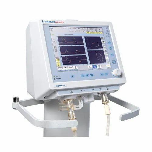 Digital Schiller Graphnet TS Adult and Pediatric ICU Ventilator