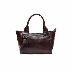 LBW00036 Ladies Brown Leather Handbag