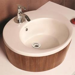 Circle Hand Crafted Wash Basin