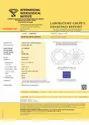 2.11ct Lab Grown Diamond CVD J SI2 Round Brilliant Cut IGI Certified