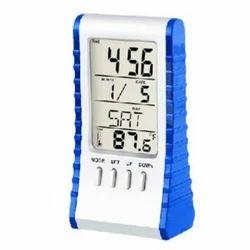 电子蓝色翻转计算器与数字表时钟,尺寸:标准,型号名称/数字:789