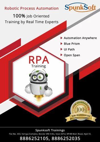 RPA Training In Hyderabad in Kphb Main Road, Hyderabad | ID: 19873432788