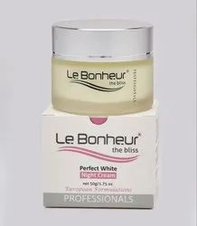Le Bonheur Perfect White Night Cream Whitening