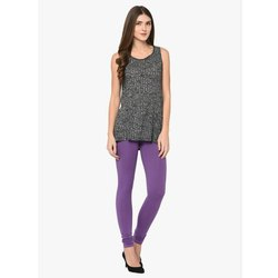 Lavender Churidar Leggings