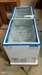 Blue Star Glass Top Deep Freezer