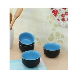 Round Ceramic Dal Bowl