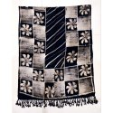 Black And Light Brown Fancy Woolen Stole, Packaging Type: Packet