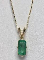 Emerald Pendant Natural Panna Stone
