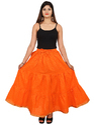 Printed Rayon Skirt