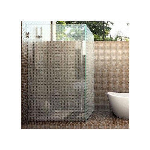 Toughened Glass Bathroom Partition At Rs Square Feet - Bathroom partition glass