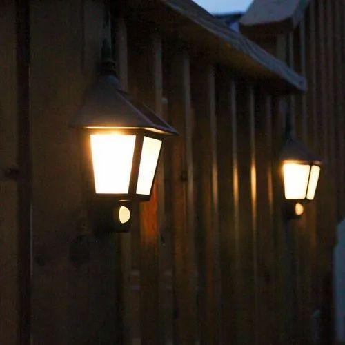 Sudarshan Saur Led 3 Watt Outdoor Solar Wall Light Rs 3500 Piece Id 22470866691
