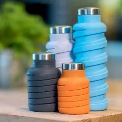 Silicone Fordable Water Bottle