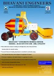 Mobile Cement Concrete Mixer