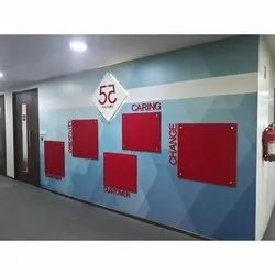 Promotion Wall Branding Printing Services