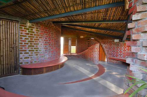 Laurie Baker Construction In Pondicherry Sulthanpet By