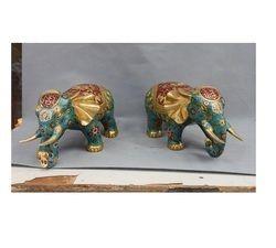 Elephant Statue Pair