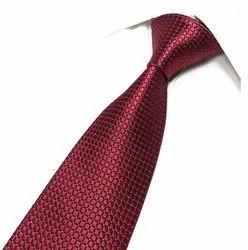 Maroon Designer Necktie
