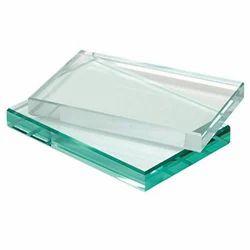 Transparent 12 mm Rectangular Toughened Glass