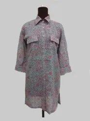 Multicolor Regular Fit Long Shirt