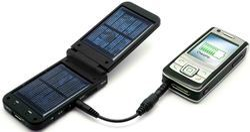 Solar Powered Mobile