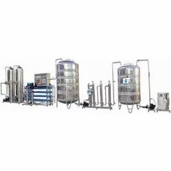 Commercial Purification Plant
