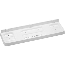 White/ivory 18 Precision Bathroom Shelf