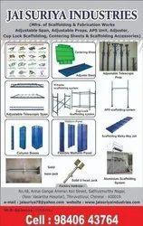 Black Scaffolding Materials Of Construction