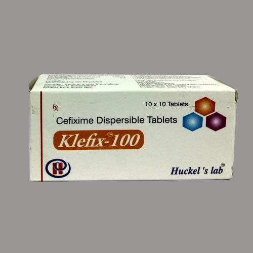 Cefixime Dispersable Tablets