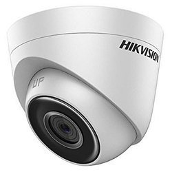 Hikvision DS-2CE5AH0T-ITPF(5MP) UltraHD IR CCTV Dome Camera (White)
