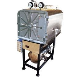 Horizontal Rectangular Autoclave