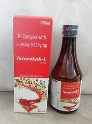 B-Complex with L-Lysine HCL Syrup