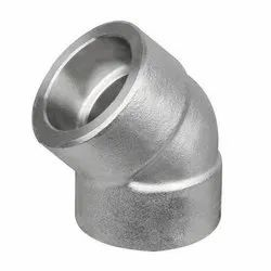 Stainless Steel Socket Weld Elbow 45