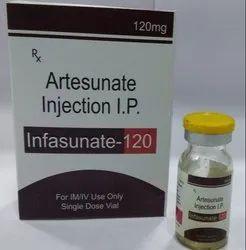 INFASUNATE Artesunate Injection I.P., 120 Mg
