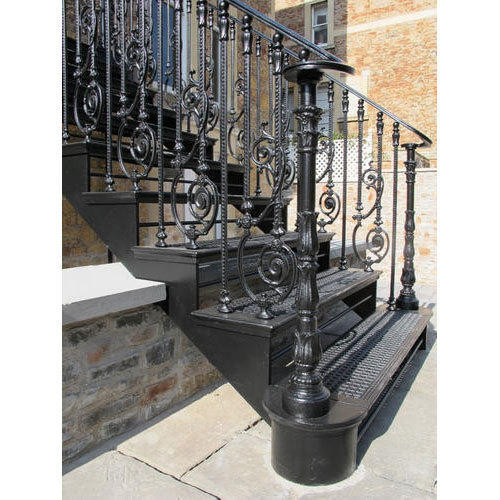 Cast Iron Stair Case