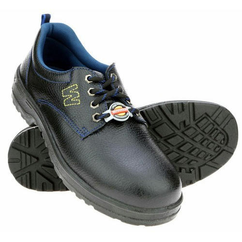 63caf485fc4 Black & Brown Liberty Warrior Safety Shoes, Size: 5 To 12, Rs 1175 ...