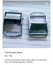 25 mm Cam Buckle