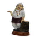 Indian Waiter Statue
