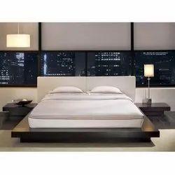 Modern Modular Wooden Bed