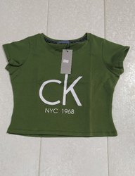 Clothes Hosiery Calvin Klein T Shirt, Size: Medium, Age Group: 14-30