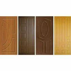 50 Micron Wood PVC Membrane Door, For Home, Office etc, Exterior