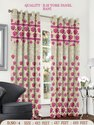 Red R.M York Home Decorative Curtain Panel