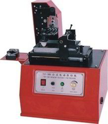 Motorized Blade Type Pad Printing Machine