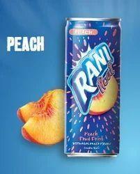 Rani Float Peach Juice 180ml, Packaging Type: Cartoons